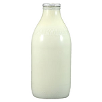 Whole Milk 1 Pint Bottle