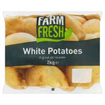 Standard White Potatoes 2kg Bag
