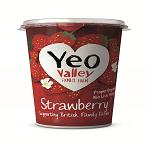 Yeo Stawberry Organic Yoghurt 450g