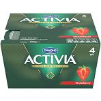 Activa Strawberry Yoghurt 4 x 125g