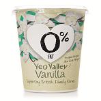 Yeo Organic Fat Free Vanilla Yoghurt 450
